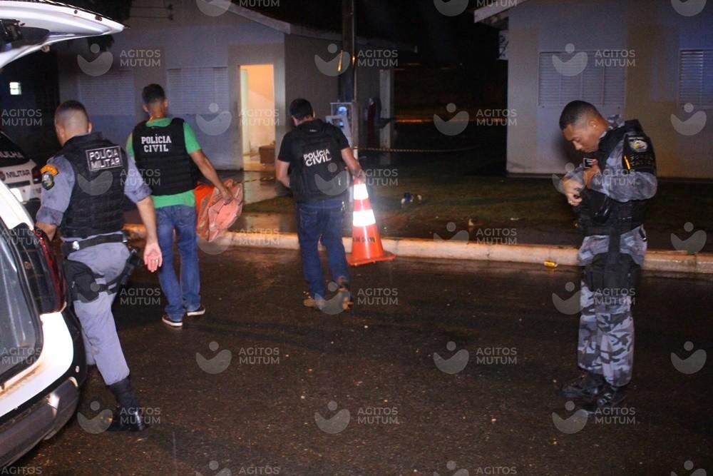 Jovem é morto a tiros e mulher é baleada em Nova Mutum-MT