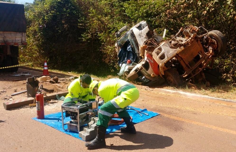 Violento acidente na BR-163 deixa um morto em Sinop-MT