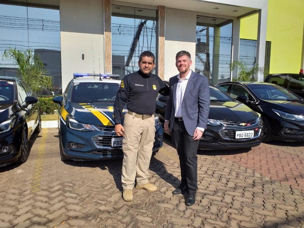 BR-163: policiamento recebe reforço de sete novas viaturas