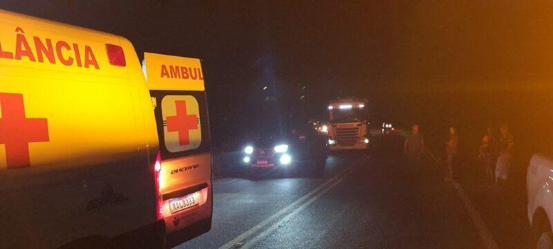 Batida entre Focus e Gol deixa um motorista morto e outro em estado grave