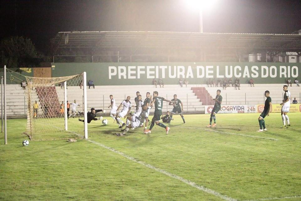 Luverdense vence o Goiás e tem vantagem para ficar com vaga na semifinal da Copa Verde