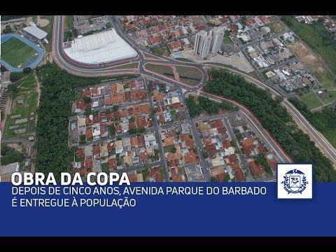 Depois de cinco anos, Avenida Parque do Barbado é entregue à população