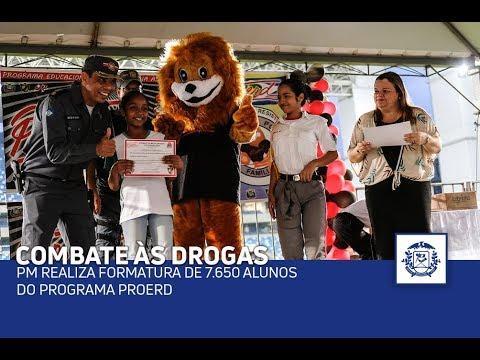 PM realiza formatura de 7.650 alunos do Programa Proerd