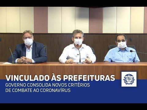 Governo consolida novos critérios de combate ao coronavírus