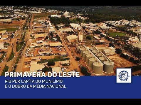 PIB per capita do município é o dobro da média nacional