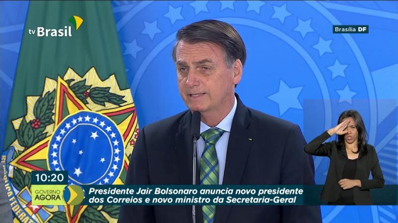 Bolsonaro anuncia novo presidente dos Correios e novo ministro da secretaria-geral da Presidência
