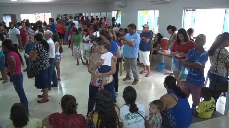 Mutirão Social leva serviços básicos ao município de Nova Nazaré
