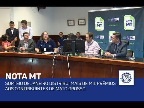 Voltar Sorteio de janeiro distribui mais de mil prêmios aos contribuintes de Mato Grosso