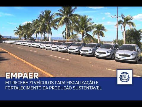 Governo de MT recebe 71 veículos que vão contribuir na fiscalização e fortalecer a produção sustentável